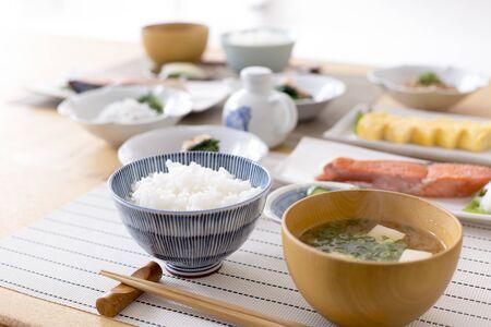 General Japanese breakfast 写真素材