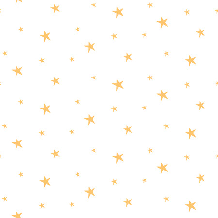Stars cute pattern for kids, girls and boys.