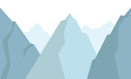 mountains background Vector illustration. Иллюстрация