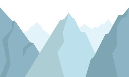 mountains background Vector illustration. Illusztráció