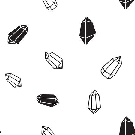 Pattern for kids, girls and boys. Vector illustration of geometric shapes Illusztráció