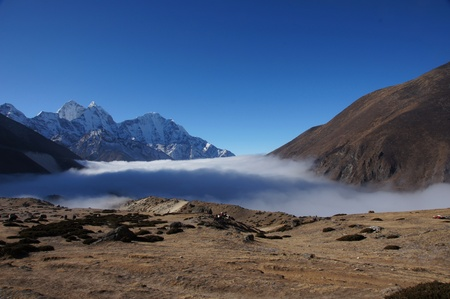 Himalayan Range, Everest trail, Nepal