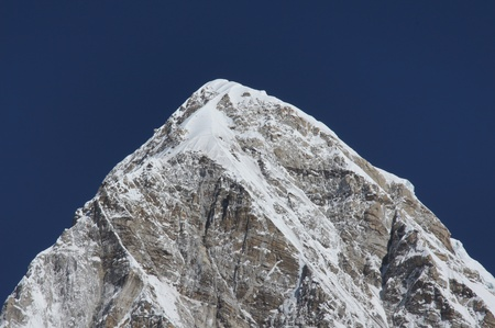 Himalayan Range, Everest trail, Nepal  photo