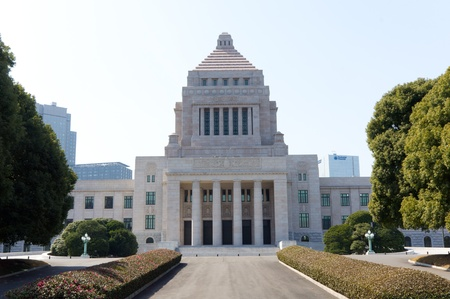 National Diet Building ,  japan Stock Photo - 12877889