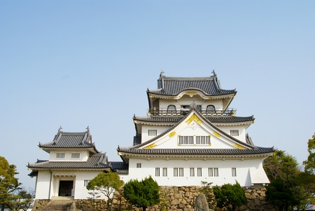 Kishiwada castle in Japan