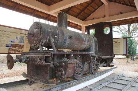 蒸気鉄道、4000 諸島、ラオス