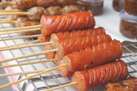 Thai sausage photo