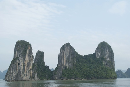 ha: Ha long Bay in Vietnam