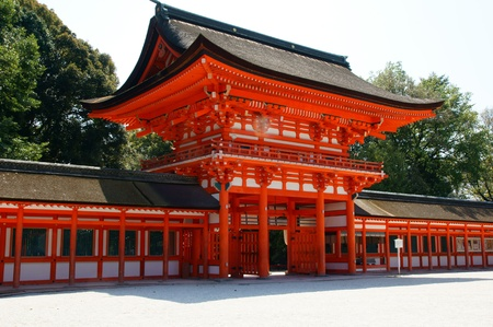 Shimogamo Shrine is one of the oldest Shinto shrines in Japan