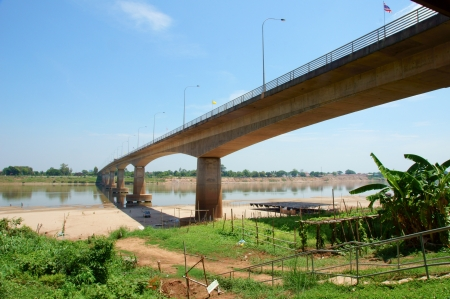 Thai-Laos friendship bridge, Thailand photo