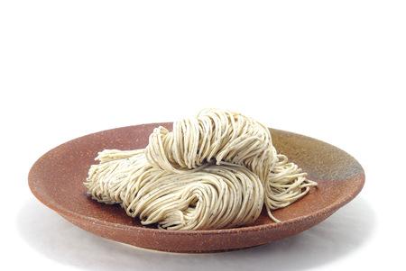 food staple: Japanese noodles SOBA
