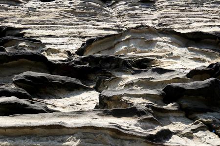 Irregular striped coast strata