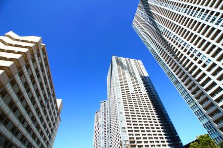 Tower apartment in Tokyo 版權商用圖片