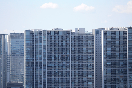 High-rise apartment in the Tokyo coastal area