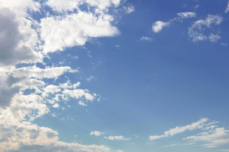 Scenery of the cloud spreading in the sky Foto de archivo