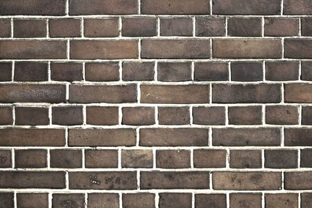 Photo of old brick wall for background material Stockfoto - 133451642
