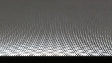 Close up photo of fine embossed aluminum plate as background material