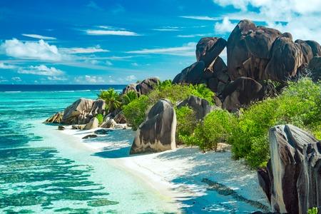 Der schönste Strand der Seychellen - Anse Source DArgent