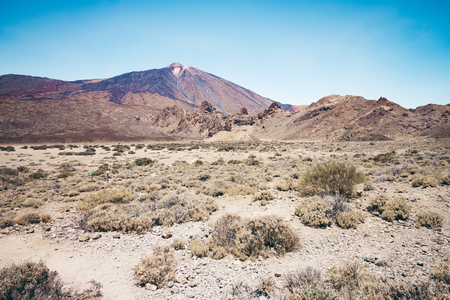 Pico del Teide - Spectacular volcano on Tenerife, with its surroundings