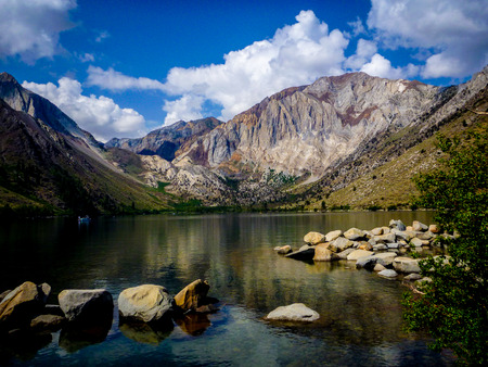 mammoth lakes: Convict Lake, California