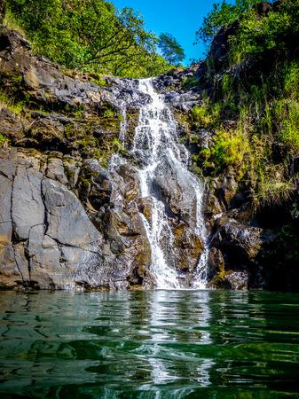 Oahu: Oahu Waterfall