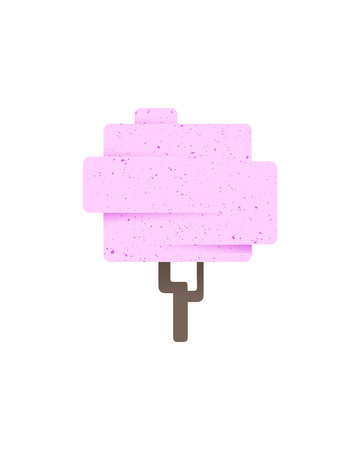 Tree icon on white background, vector illustration