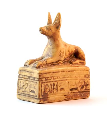 cat goddess: Anubis (Egypt mythology)