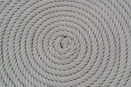 coiled rope: Ships Rope coiled