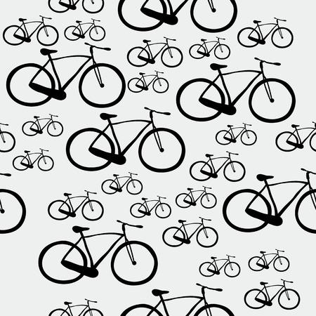 Pattern bicycle photo