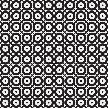 rounds: Abstract minimalistic  pattern, rounds, dots, geometric, monochrome