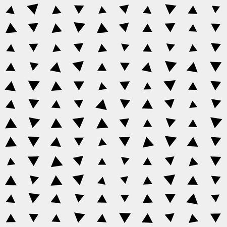 Patroon achtergrond driehoek, retro vintage design vector, geometrische