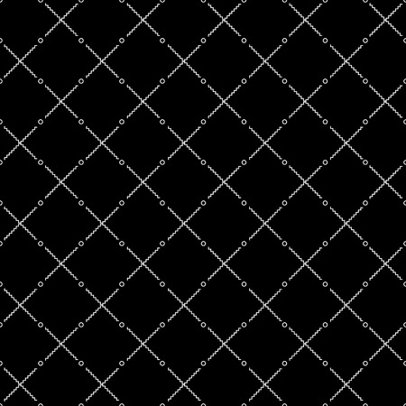 fissure: Vector seamlessmonochrome minimalistic pattern. Minimalistic style.Repeating geometric tiles Illustration