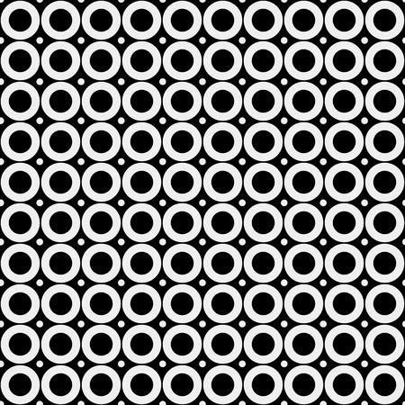 rounds: Abstract minimalistic  pattern, rounds, geometric, monochrome