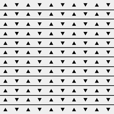 simple background: Pattern monochrome background simple triangle, retro vintage design vector, geometric