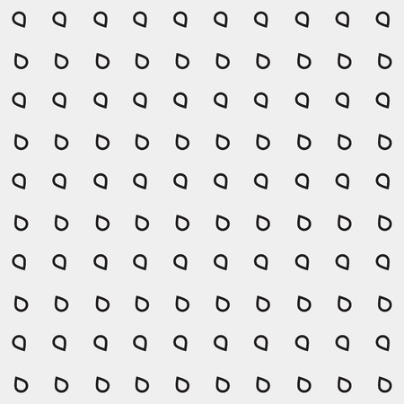 soak: Pattern drops monochrome minimalistic shapes