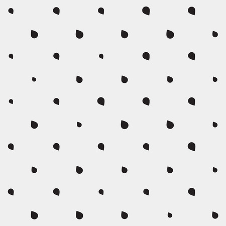 torrential rain: Pattern drops monochrome minimalistic shapes