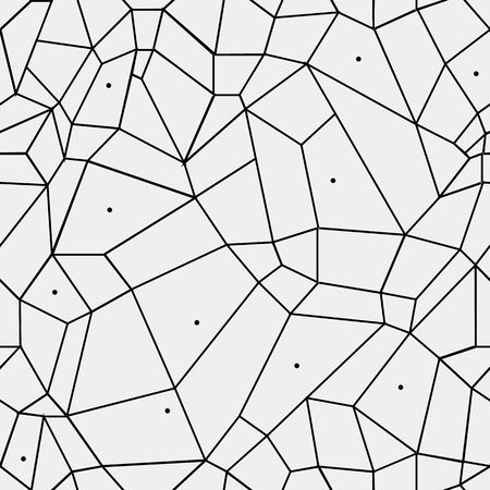 stained: Geometric simple black and white minimalistic pattern, rectangles or stained-glass window. Can be used as wallpaper, background or texture.