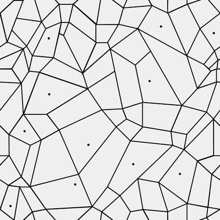 Modelo geométrico blanco y negro simple minimalista, rectángulos o vidriera. Se puede utilizar como fondo de pantalla, fondo o la textura. Ilustración de vector