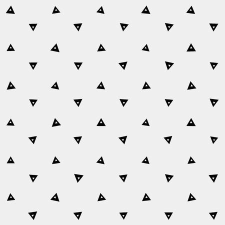 minimalistic: Pattern geometric, background triangle, retro vintage design vector minimalistic monochrome