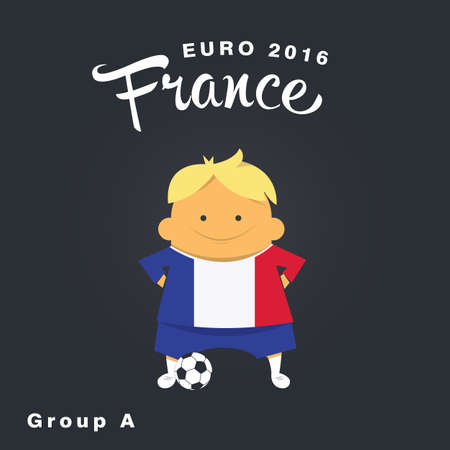 finalist: Euro 2016 championship icon, France, group A.