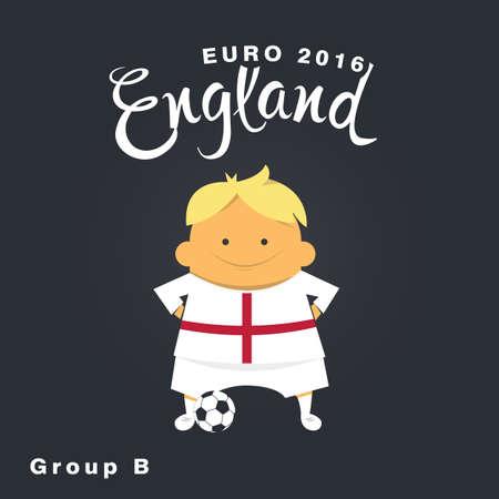 group b: Euro 2016 championship icon, England, group B.