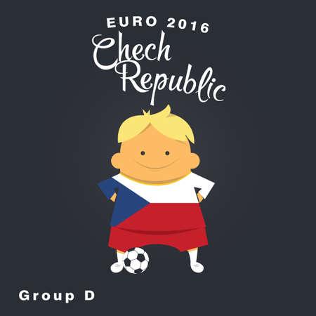 finalist: Euro 2016 championship icon, Chech Republic, group D.