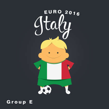 finalist: Euro 2016 championship icon, Italy, group E.