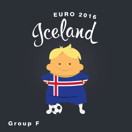 finalist: Euro 2016 championship icon, Iceland, group F.