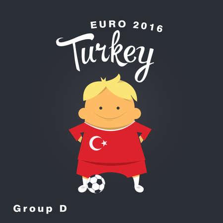 finalist: Euro 2016 championship icon, Turkey. group D.