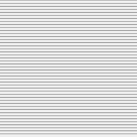 horizontal lines: Seamless simple monochrome minimalistic pattern. Straight horizontal lines