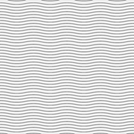 twisty: Seamless simple monochrome minimalistic pattern. Modern stylish texture. Wavy lines, simple