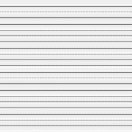 horizontal lines: Seamless simple monochrome minimalistic pattern. Modern stylish texture. Straight horizontal lines and dots, simple