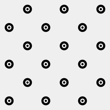 used clothes: Pattern rounds. Monochrome minimal, geometric. Can be used as wrapping paper or texture for clothes