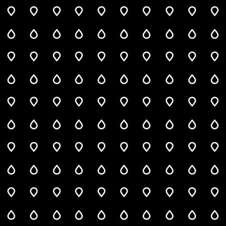 torrential: Pattern drops monochrome minimalistic shapes